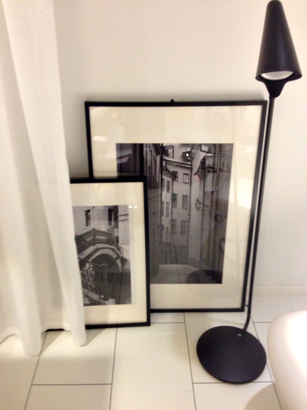 Inspiration bei IKEA-Schwarz-Weiß