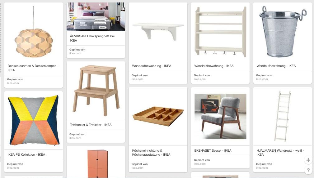Inspiration bei IKEA-Pinterest Album Amyslove