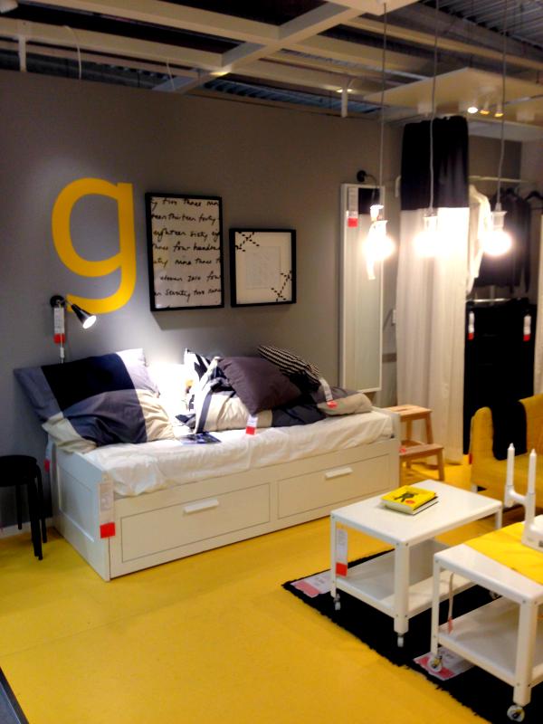 Inspiration bei IKEA-Gelbes-Schlafzimmer