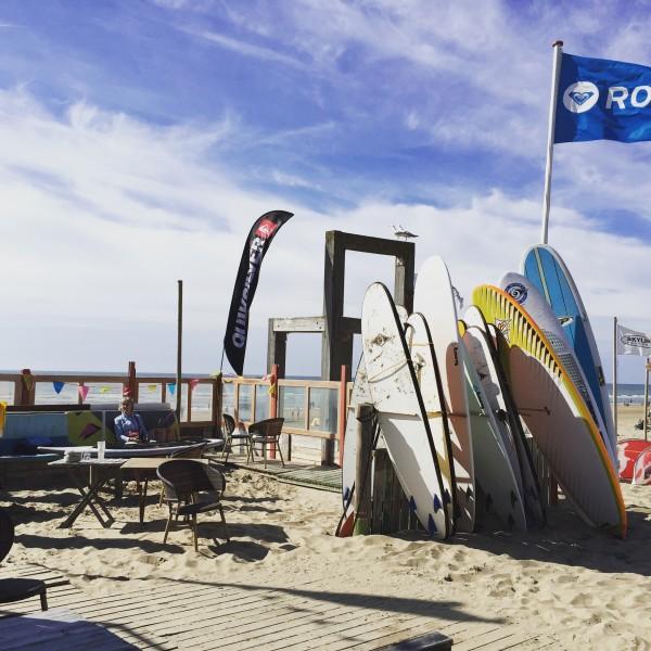 Schnell ans Meer Standup Padelling Zandvoort Surfbretter