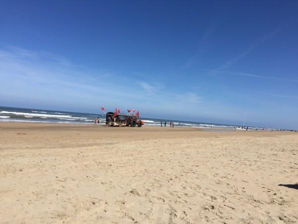 Schnell ans Meer Strand Beach Holland Zandvoort Strandmobil Traktor amyslove