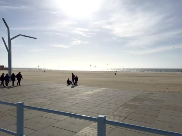 Schnell ans Meer Strand Holland Schweveningen