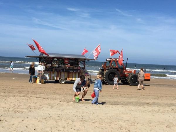 Schnell ans Meer Strandmobil Traktor amyslove