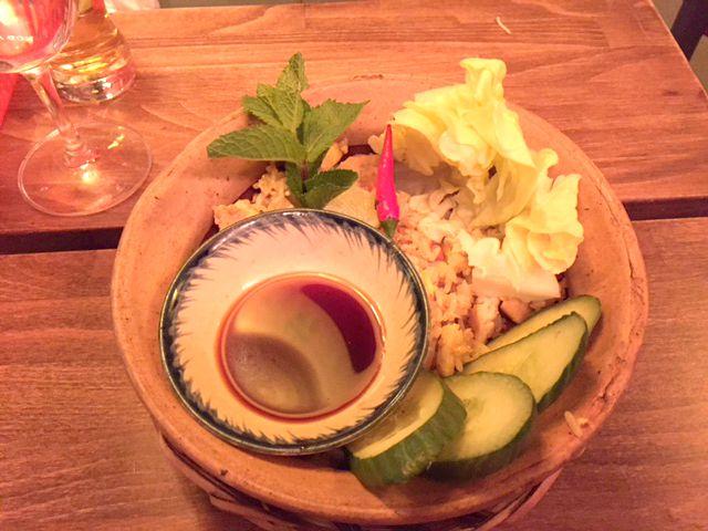 district mot berlin vegetarisches dinner