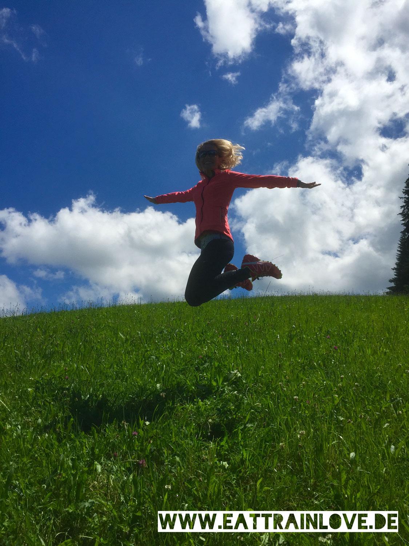 Kristin springt