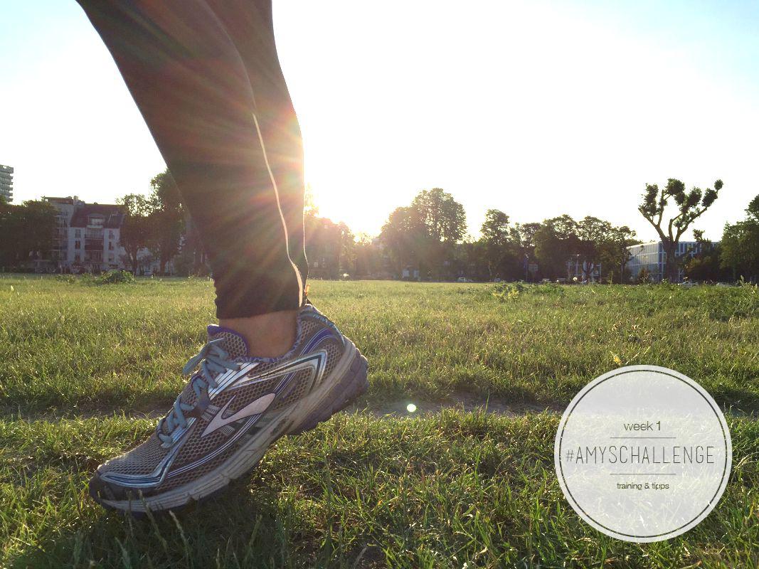 halbmarathon trainign challenge