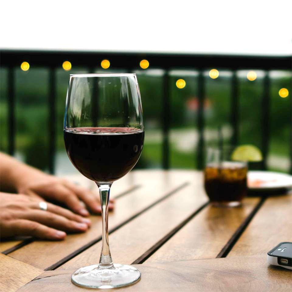 Vom unverträglich sein_Rotwein