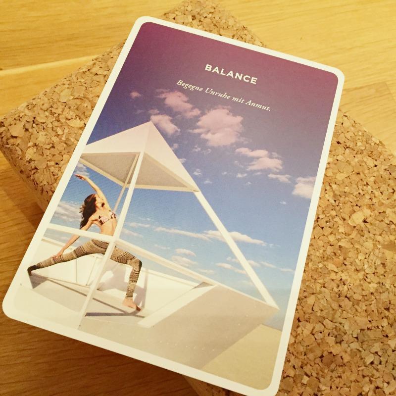 Yoga-Karten_Kunst der Aufmerksamkeit_Balance