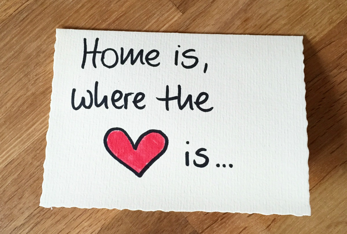 Kolumne Home is where the heart is