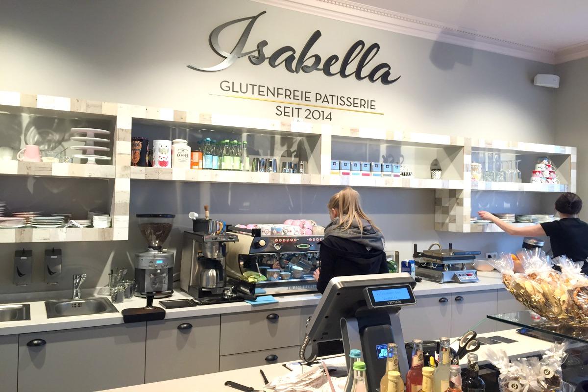 Isabella Glutenfrie Patisserie_Theke